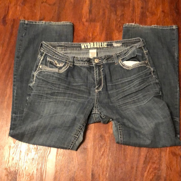 Hydraulic jeans.  Size 20 tall